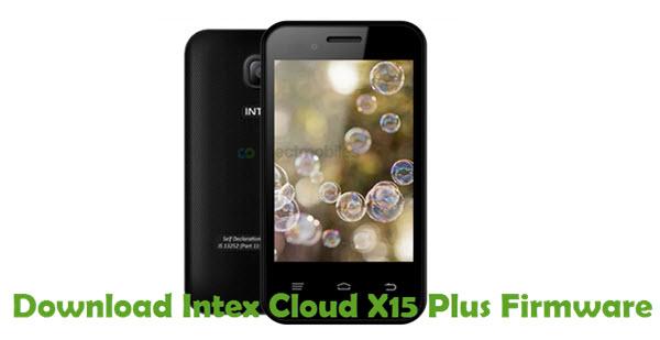 Download Intex Cloud X15 Plus Firmware