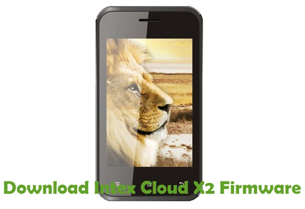 Download Intex Cloud X2 Firmware