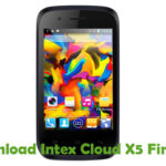 Intex Cloud X5 Firmware