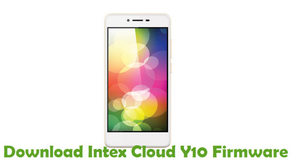 Download Intex Cloud Y10 Firmware