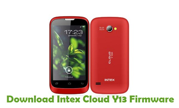 Download Intex Cloud Y13 Firmware