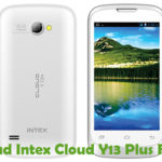 Intex Cloud Y13 Plus Firmware