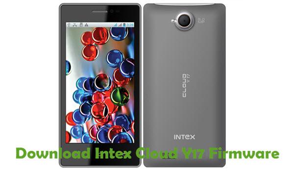 Download Intex Cloud Y17 Firmware