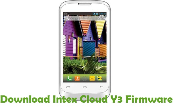 Download Intex Cloud Y3 Firmware