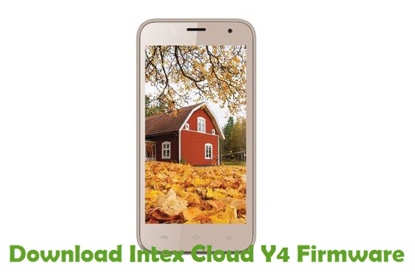 Download Intex Cloud Y4 Firmware