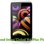 Intex Cloud Y4 Plus Firmware