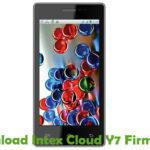 Intex Cloud Y7 Firmware