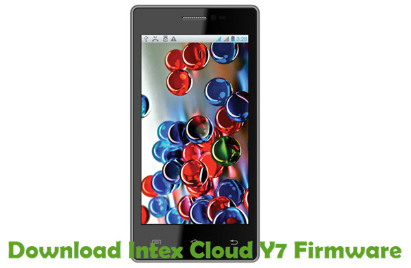 Download Intex Cloud Y7 Firmware