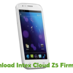 Intex Cloud Z5 Firmware