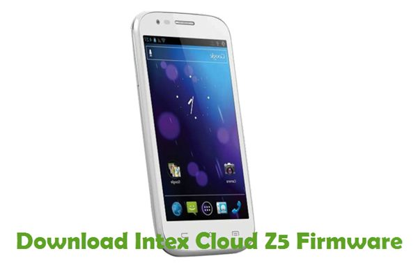 Download Intex Cloud Z5 Firmware