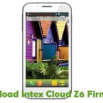 Intex Cloud Z6 Firmware