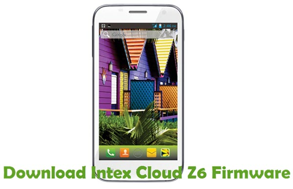 Download Intex Cloud Z6 Firmware