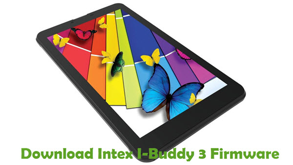 Intex I-Buddy 3 Firmware