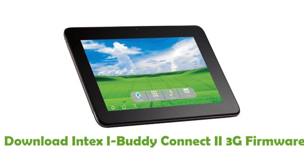Download Intex I-Buddy Connect II 3G Firmware