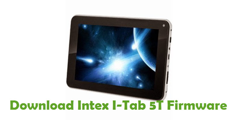 Download Intex I-Tab 5T Firmware
