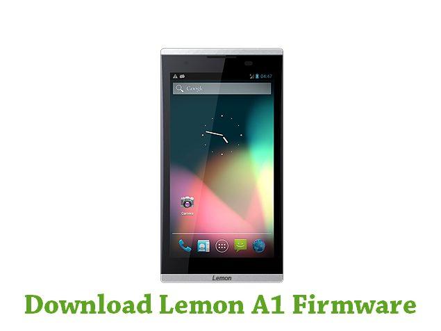 Download Lemon A1 Firmware