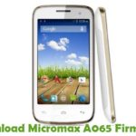 Micromax A065 Firmware
