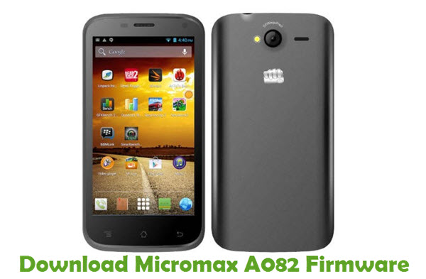 Download Micromax A082 Firmware