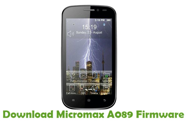 Download Micromax A089 Firmware