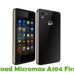 Micromax A104 Firmware