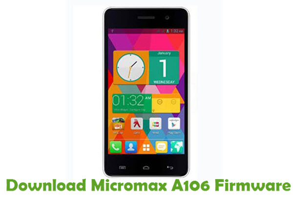 Download Micromax A106 Firmware