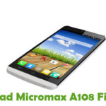 Micromax A108 Firmware