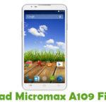 Micromax A109 Firmware