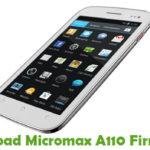 Micromax A110 Firmware