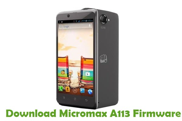 Download Micromax A113 Firmware