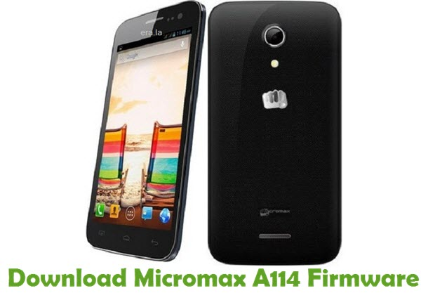 Download Micromax A114 Firmware
