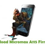 Micromax A115 Firmware