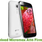 Micromax A116 Firmware
