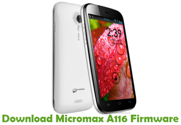 Download Micromax A116 Firmware