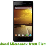 Micromax A120 Firmware
