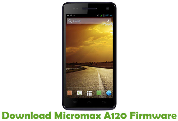 Download Micromax A120 Firmware