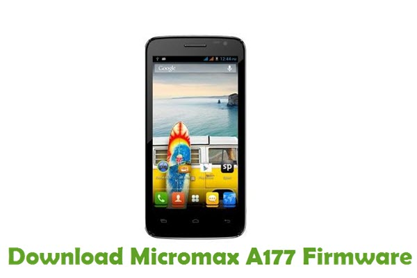 Download Micromax A177 Firmware