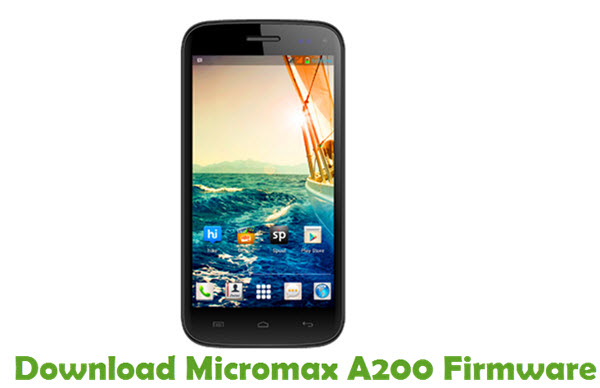 Download Micromax A200 Firmware