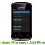 Micromax A24 Firmware