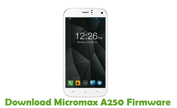 Download Micromax A250 Firmware