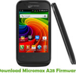 Micromax A28 Firmware
