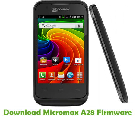 Download Micromax A28 Firmware