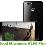 Micromax A290 Firmware
