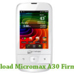 Micromax A30 Firmware