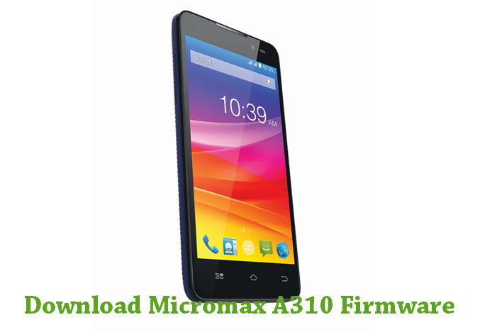 Download Micromax A310 Firmware