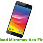 Micromax A311 Firmware