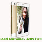 Micromax A315 Firmware