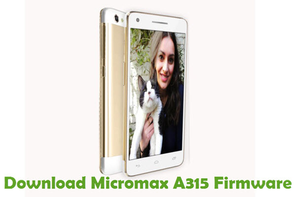 Download Micromax A315 Firmware