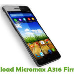 Micromax A316 Firmware