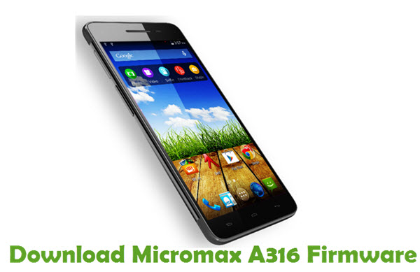 Download Micromax A316 Firmware