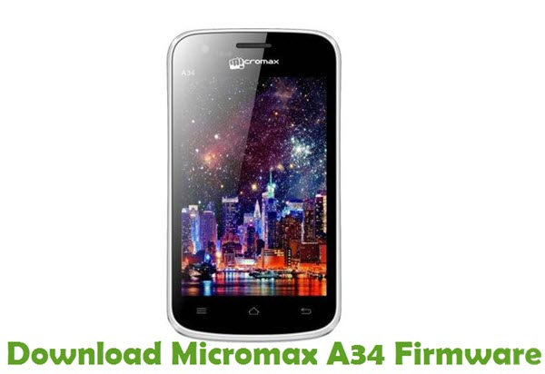 Download Micromax A34 Firmware